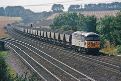 56100 (paul_braybrook) Tags: class56 diesel railfreight coal burtonsalmon northyorkshire railway trains