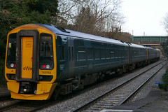 GWR 158745 at Yatton (neiljennings51) Tags: first great western railway gwr train yatton somerset station