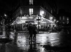 (christiandumont) Tags: monochrome streetphotography streetphoto streetlife street blackandwhite blackwhite bw night nb noiretblanc paris streetparis rue x100f fujifilm