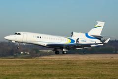 N744C | FA8X | EGGW (Ashley Stevens images) Tags: luton airport eggw ltn canon eos aircraft aeroplane aviation civil airplane n744c