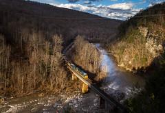 Skaggs Glory Hole (WillJordanPhoto) Tags: skaggs hole csx coal train friends kentucky virginia breaks park gorge towers