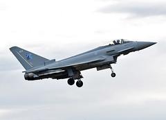 ZK424 (np1991) Tags: royal air force raf lossiemouth lossie moray scotland united kingdom uk nikon digital slr dslr d7200 camera nikor 70200mm vibration reduction vr f28 lens aviation planes aircraft eurofighter typhoon fgr4 70 years nato badge 1949 2019