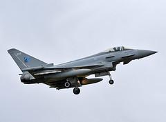ZK344 (np1991) Tags: royal air force raf lossiemouth lossie moray scotland united kingdom uk nikon digital slr dslr d7200 camera nikor 70200mm vibration reduction vr f28 lens aviation planes aircraft eurofighter typhoon fgr4 70 years nato badge 1949 2019