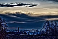 Ciel et paysage du Gard (EmArt baudry) Tags: gard boucoiranetnozières moussac composition ciel couleur colour occitanie languedocroussillon landscape light lumière sky digitalart artnumérique dark darkness sombre ombre shadow hdr nikon nature emart emmanuellebaudry