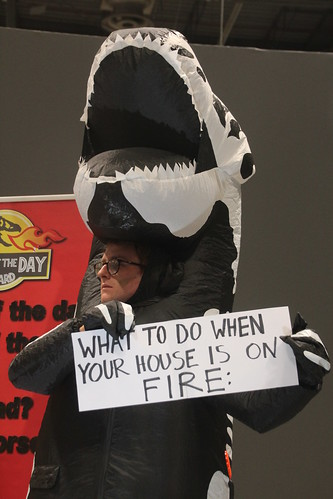 What to do when your house is on fire - #FossiloftheDay #COP25 - Dec 13 - IMG_7371