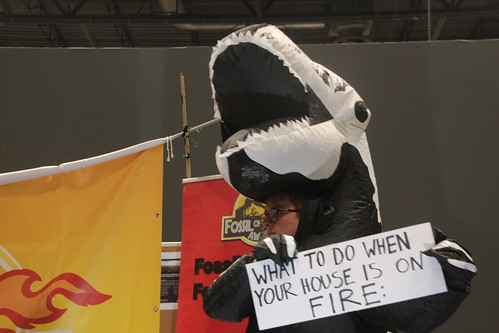What to do when your house is on fire - #FossiloftheDay #COP25 - Dec 13 - IMG_7370