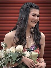 Flower Parade Princesses (Scott 97006) Tags: woman female lady flowers beauty smile