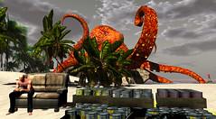 Worried? Not me. (Tevor Z) Tags: octopus plane crash accident desertisland secondlife hotelcalifornia shutterthugs