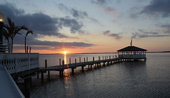 Sunset at Fager's (Scarfo_Lauren) Tags: sunset fagers ocean city md