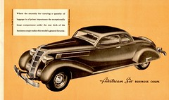 The Great New Chryslers for 1935 (Jasperdo) Tags: brochure pamphlet chrysler automobile car vehicle airstream6 businesscoupe