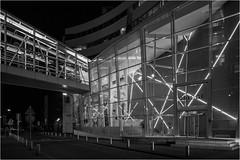 Den Haag The Bridge (Rens Timmermans) Tags: canon5dmk3 canontse24mmf35ii architectuur avondfotografie blackwhite denhaag nationalgeographic ngc
