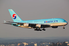 Korean Air Airbus A380-861 HL7619 (Mark Harris photography) Tags: spotting yssy sydney aviation canon airbus a380