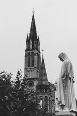 Lourdes (Carmen Plà) Tags: photography photo photographer picture place canon camera canon600d lourdes blackandwhite blancoynegro pray sigma street travel