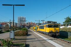 NSR 1779+DDM 7201 | Zandvoort (Babo Sorany) Tags: trein tog treno vlak tren vonat vonatk vlaky trenu trenuri treni train ns nsr nar ns1700 ns1779 ddm ddm7201 7201 zandvoort amsterdamzandvoort duinen station