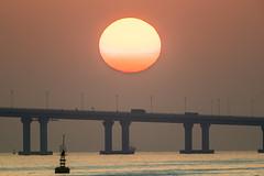 Sunset-HZMB-8164 (Johnny YAN HF) Tags: islandsdistrict hongkong