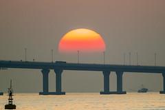Sunset-HZMB-8191 (Johnny YAN HF) Tags: islandsdistrict hongkong