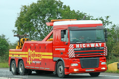 DAF XF Highway Recovery (SR Photos Torksey) Tags: transport truck haulage hgv lorry lgv logistics road commercial vehicle freight traffic daf xf highway recovery