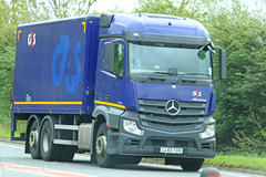 Mercedes Actros G4S LL65 TUH (SR Photos Torksey) Tags: transport truck haulage hgv lorry lgv logistics road commercial vehicle freight traffic mercedes actros g4s
