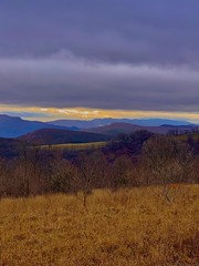 sunset on dolly (GAWV) Tags: dollysods pendletoncounty westvirginia sunset dark west mineralcounty trees fog rain dusk grass night cold sleet clouds