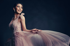 Lady in pink (jrseqtaf98) Tags: gown beauty portrait fashion queen vintage film model asian girl beautyqueen photography style styling stylish