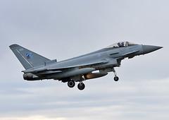 ZK330 (np1991) Tags: royal air force raf lossiemouth lossie moray scotland united kingdom uk nikon digital slr dslr d7200 camera nikor 70200mm vibration reduction vr f28 lens aviation planes aircraft eurofighter typhoon fgr4 70 years nato badge 1949 2019