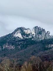cloudy senecal rocks (GAWV) Tags: senecarocks westvirginia cloudy rain fog pendeltoncounty december cold clouds roadtrip alleghenymountains