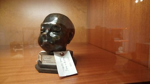 Head of a Baby. Jacob Epstein, Manchester Art Gallery.