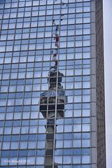 TV tower, Berlin (markbangert) Tags: tv tower alexanderplatz berlin infrared infrarot infrarouge 700mn