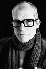 Fabrice (evelien noens) Tags: glasses man model male blackandwhite portrait sigmaartlenses sigma50mmart nikond750 nikon