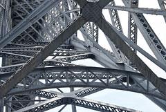 steel construction in porto 2 (sograph) Tags: steel metl construction porrto bridge