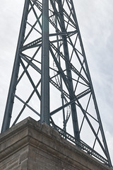 steel construction in porto 1 (sograph) Tags: steel metl construction porrto bridge
