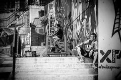 Observe (Carmen Plà) Tags: photography photo photographer picture people place canon colombia camera canon600d city comuna13 medellín sigma street blackandwhite blancoynegro boy graffiti