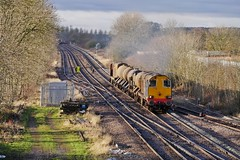 The Last Post (JohnGreyTurner) Tags: br rail uk railway train transport diesel engine locomotive freight drs 20 class20 type1 ee1 ee english electric hnrc rhtt brocklesby chopper lincolnshire