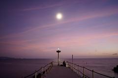 The Fishing Man (thomasgerlach91) Tags: coast dusk longexposure