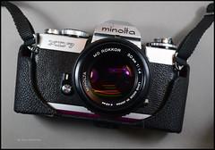Minolta XD-7 Notes (02) (Hans Kerensky) Tags: minolta xd7 notes japanese 35mm slr 114 50mm md rokkor lens half case