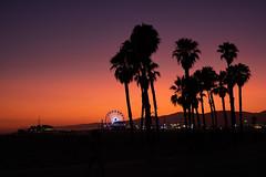 Santa Monica Sunset (BrianEden) Tags: sunset losangeles santamonica beach pier evening california la