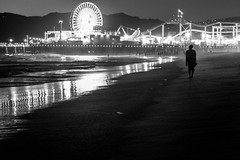Dream big (BrianEden) Tags: california santamonica beach pier evening losangeles la