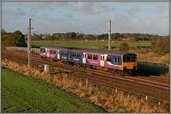 150141, Winwick (Jason 87030) Tags: northern sprinter class150 15014 winwick junction lineside dmu diesel multiple unite uk blue purple livery 2 car tren train lighting shot shoot canon eos change camera color colour anything everything northwest