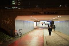 2019 Bike 180: Day 284, December 12 (olmofin) Tags: 2019bike180 finland bicycle polkupyörä leppävaara rautatieasema railway station tunneli tunnel lumix 20mm f17 street katu
