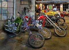 Choppers (arbyreed) Tags: arbyreed legends motorcycles choppers hdr springvilleutah