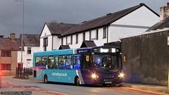 Arriva Buses Wales Wrightbus VDL Pulsar MX09 EKP 2935 - Llangefni (Efan Thomas Bus Spotting Photography) Tags: arriva buses wales wrightbus vdl sb200 pulsar mx09ekp 2935