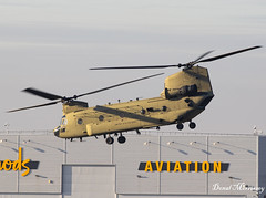US Army CH-47 Chinook 13-08134 (birrlad) Tags: stansted stn airport london uk aircraft aviation airplane airplanes helicopter chopper nato summit support trump us army ch47 chinook 1308134