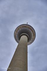 TV Tower, Berlin (markbangert) Tags: tv tower berlin alexanderplatz infrared infrarot infrarouge 700mn fuji xt3