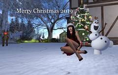 Merry Christmas 2019 (| Raven |) Tags: christmas ravi ravencloud nightfire winter snow