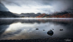 A Constant Battle. (_Anathemus_) Tags: the lake district buttermere england uk morning fog fogy mist clouds nikon d750 dramatic sky reflection moody atmosphere landscape