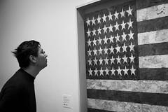 Counting stars (Mr Mojito) Tags: stars newyork art american museum moma gallery bw monochrome
