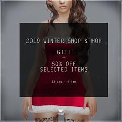 Pixicat Sale - Winter Shop & Hop (areve | -pixicat-) Tags: sl secondlife shophop sale gift