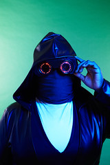 Watchmen Sister Night NeoPixel Goggles (adafruit) Tags: watchmen neopixels neopixel cosplay costumes costuming wearables wearable halloween