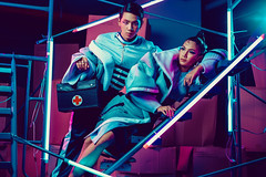 KKU Ambassador (jrseqtaf98) Tags: model neon fashion dark men women man guy girl nurse future portrait photography people style stylish styling