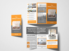 Trifold Brochure (rifat333) Tags: 3 fold a4 advert advertisement advertising agency brochure business clean company consultant corporate creative design financial handout marketing modern multipurpose pamphlet photoshop professional promotion prospectus psd stylish template trifold